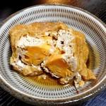 柳屋 - 朝食(しのだ袋の煮物)