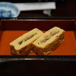 五代目 野田岩 - 鰻巻き