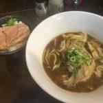 らーめん紬麦 - 「カレー南蛮」850円+「ミニチャーシュー丼」150円