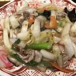 秋葉原魚金 - 名物八宝菜 680円