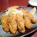 若とり - 料理写真:牡蠣フライ