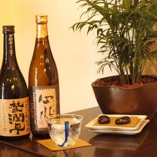 本格焼酎日本酒が充実してます!