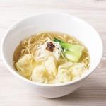 謝朋殿 粥餐庁 - 鶏がらスープの海老わんたん麺