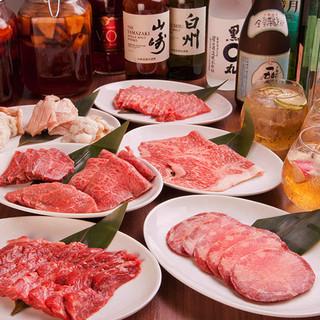 【飲放付コースあり】黒毛和牛食べ尽くし!