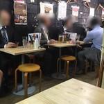 神田 万丸 - 店内は雑然とした居酒屋です。昼呑みおっさんもいます!