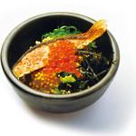 だよね。 - 鮭と漬けイクラの海鮮茶漬け