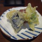 82428352 - 季節の野菜天ぷら