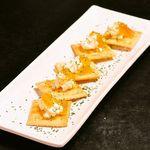 柚子ジャムとクリームチーズのディップ(5枚)