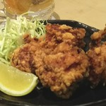 赤城鶏の唐揚げランチ