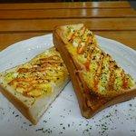 久米珈琲 - 料理写真:玉子トースト