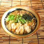 元気海鮮 朝日食堂 - 〆の稲庭鶏中華