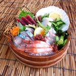 元気海鮮 朝日食堂 - 大漁