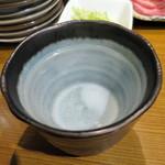 焼肉屋かねちゃん - 佐藤黒お湯割り_750円