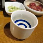 焼肉屋かねちゃん - みやさか純米吟醸_680円