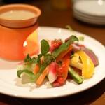 アンジェロ - 季節野菜のバーニャカウダ