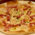 アンジェロ - エビマヨとベーコンのピザ