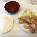 らんまん食堂 - 米とスープは…