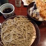 82440925 - 海老天丼セット (980円・税込)