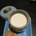 中国精進料理 凛林 - 大好物の杏仁豆腐なのに茶碗蒸し風