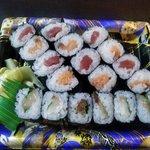 十六家 - 選べる巻き寿司(鉄火,サーモン,サバシソ)