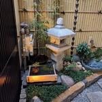 82442189 - 入口の庭