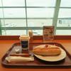 ANA FESTA - 料理写真:ホットドッグセット(カフェラテ ホットは30円プラス) 620円