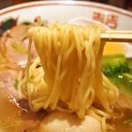 らーめん 小鉄 - 塩らーめん(麺)