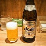 らーめん 小鉄 - ビール