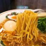 らーめん 小鉄 - 醤油らーめん(麺)