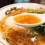 らーめん 小鉄 - 醤油らーめん(スープ)