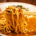 らーめん 小鉄 - 肉味噌らーめん(麺)