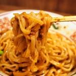 らーめん 小鉄 - 肉味噌まぜそば(麺)