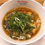ラーメン ドゥエ エド ジャパン - 京都九条葱と生醤油の鶏そば