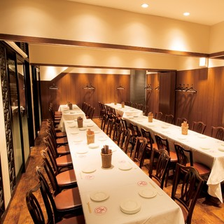 恵比寿で誇る大型個室3部屋完備!8名様~最大50名様まで。