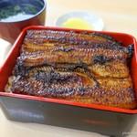 東うなぎ - 料理写真:2017年2月 うな重(超特)【3000円】提供が早い!( ゚Д゚)