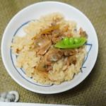 真珠漬本舗 - 料理写真:炊き込みご飯にして
