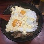 淡淡 - 焼肉丼エッグ+マヨネーズ
