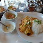 Thai Restaurant BASIL - カニカレーセット(スペシャルランチ)