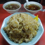 中華三原 - 何故かスープは2杯(笑)