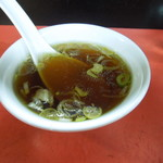 中華三原 - 1杯目のスープ