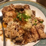 浜木綿 - 鶏の唐揚げ葱ソース