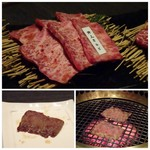 焼肉 武田や - ◆特上カルビ(2200円)・・特上だと脂が多いお店もありますけれど、こちらのは程よいサシで食べやすく甘みを感じます。