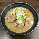 麺屋 玄 - 料理写真:味噌らーめん チャーシュー麺を