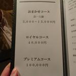 焼肉 武田や - メニュー