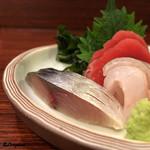 魚菜 - 〆鯖、寒鮃、王鰈、鮪赤身