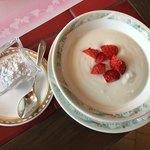 カフェ ベラヴィスタ - お子様セットのヨーグルト