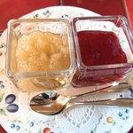 カフェ ベラヴィスタ - りんごとイチゴのジャム