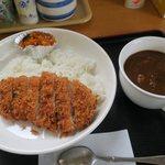 千利庵 - 料理写真:カツカレー(¥950)