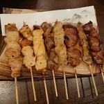 焼き鳥 金太郎 - 阿波尾鶏8本セット