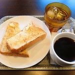 かもめカフェ - 料理写真:モーニング(全体)
